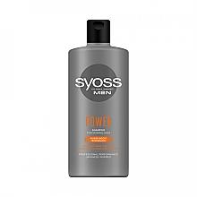 Düfte, Parfümerie und Kosmetik Stärkendes Shampoo für normales Haar - Syoss Men Power Shampoo