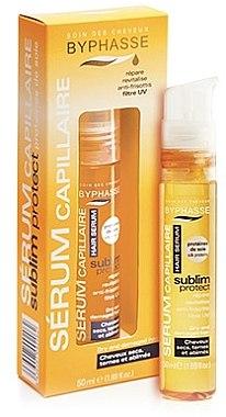 Regenerierendes Serum für trockene und strapazierte Haarspitzen - Byphasse Glamour Line Hair Serum — Bild N1