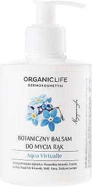 Feuchtigkeitsspendender Handwaschbalsam - Organic Life Dermocosmetics Aqua Virtualle Moisturizing Hand Wash Balm — Bild N1