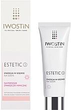 Düfte, Parfümerie und Kosmetik Energiespendende Tagescreme für das Gesicht gegen Mimikfalten - Iwostin Estetic Day Cream