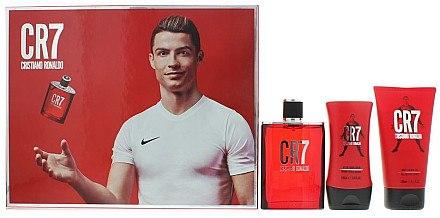 Cristiano Ronaldo CR7 - Duftset (Eau de Toilette/100m+Duschgel/150ml+After Shave Balsam/100ml) — Bild N1