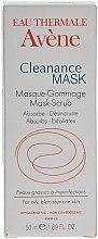 Düfte, Parfümerie und Kosmetik Exfolierende Gesichtsreinigungsmaske für fettige und zu Akne neigende Haut - Avene Exfoliating Absorbing Cleanance Mask-Scrub