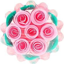 Düfte, Parfümerie und Kosmetik Glycerinseife Rose Fantasy Korbchen - Bulgarian Rose Glycerin Soap Rose Fantasy