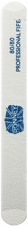 Nagelfeile 80/80 gerade weiß - Ronney Professional — Bild N1