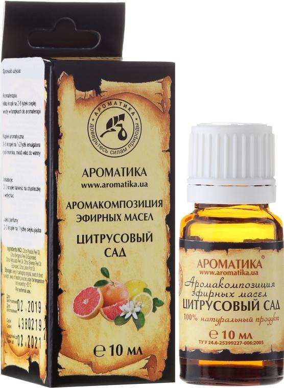 """Aromakomposition """"Zitrusgarten"""" - Aromatika — Bild N1"""