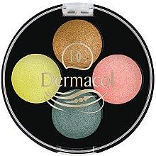 Düfte, Parfümerie und Kosmetik Lidschatten - Dermacol Quattro Baked Eye Shadow