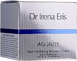 Düfte, Parfümerie und Kosmetik Reichhaltige und pflegende Tages- und Nachtcreme für jeden Hauttyp - Dr Irena Eris Aquality Hyper-Hydrating Recovery Cream Rich Formula