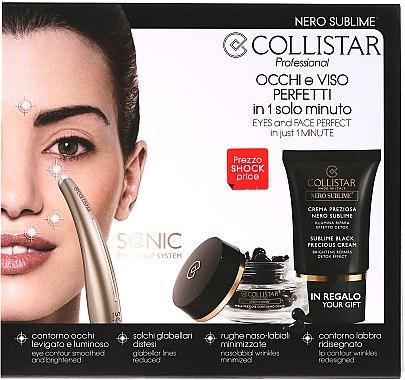 Set - Collistar Nero Sublime (cr/15ml + pearls/40pcs + device/1pcs) — Bild N1
