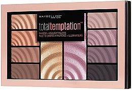 Lidschatten- und Highlighter-Palette - Maybelline Total Temptation Eyeshadow + Highlight Palette — Bild N2