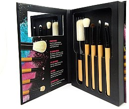 "Zestaw pędzli do makijażu ""Brush With Me"" - W7 Five Flawless Make Up Brushes — Bild N2"