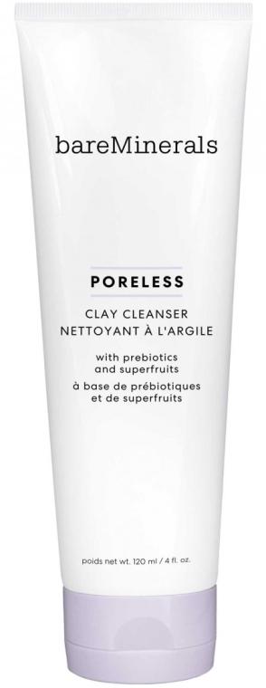 Porenverfeinerndes Gesichtsgel mit Präbiotika & Fruchtsäuren - Bare Minerals Bare Escentuals Poreless Clay Cleanser — Bild N1