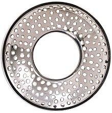 Düfte, Parfümerie und Kosmetik Kerzenaufsatz für Yankee Candle Duftkerze im Glas - Yankee Candle Illuma Lid Kensington Silver Jar Candle Topper