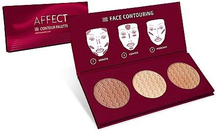 Konturpalette für das Gesicht - Affect Cosmetics Contour Palette — Bild N1