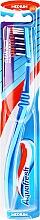 Düfte, Parfümerie und Kosmetik Zahnbürste mittel Clean Deep hellblau-dunkelblau - Aquafresh Clean Deep Medium