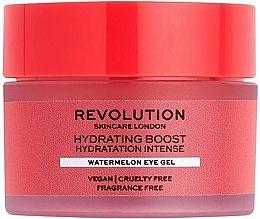 Düfte, Parfümerie und Kosmetik Feuchtigkeitsspendendes Augenkonturgel mit Wassermelonen-Extrakt - Revolution Skincare Hydration Boost Watermelon Eye Gel