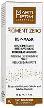 Düfte, Parfümerie und Kosmetik Intensive Gesichtsmaske für die Nacht gegen dunkle Pigmentflecken - MartiDerm Pigment Zero DSP-Mask Intensive Depigmenting Night
