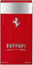 Düfte, Parfümerie und Kosmetik Ferrari Man in Red - After Shave Lotion