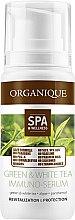 Düfte, Parfümerie und Kosmetik Revitalisierendes Immunserum für Gesicht und Körper mit grünem und weißem Tee - Organique Spa Therapie Serum