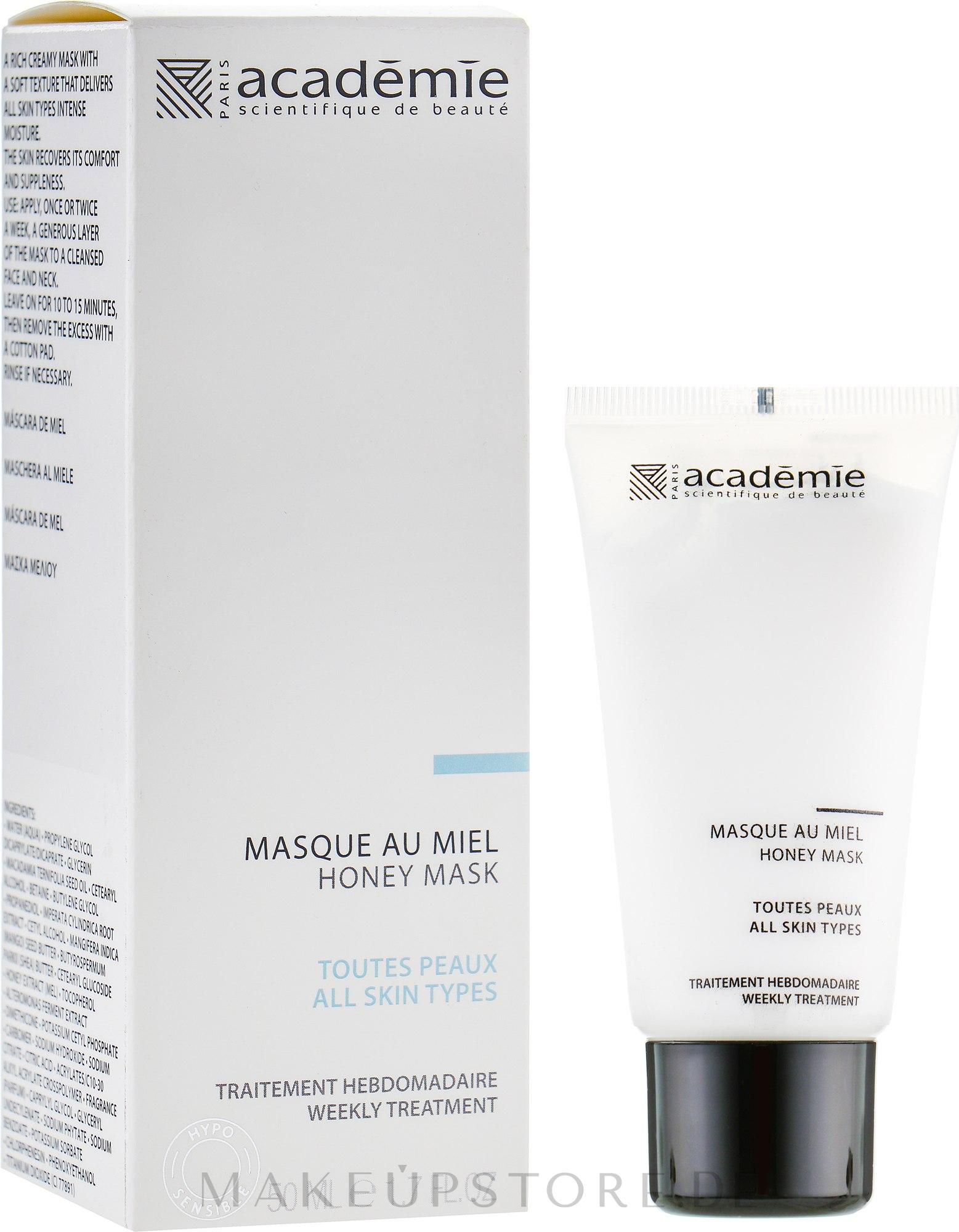 Gesichtsmaske mit Honig - Academie Honey Mask — Bild 50 ml