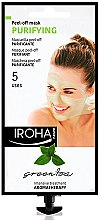 Düfte, Parfümerie und Kosmetik Gesichtsmaske - Iroha Nature Green Tea Purifying Peel-Off Mask