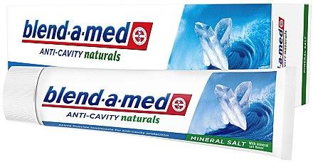 Zahnpasta Anti-Cavity Naturals Mineral Salt - Blend-a-Med Anti-Cavity Naturals Mineral Salt — Bild N2