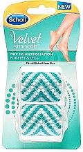 Düfte, Parfümerie und Kosmetik Austauschbare Rollen für elektrische Fußfeile 2 St. - Scholl Velvet Smooth Peeling Rollen Dry Skin