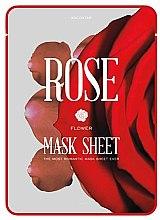 Düfte, Parfümerie und Kosmetik Lifting-Tuchmaske mit Rosenextrakt - - Kocostar Slice Mask Sheet Rose