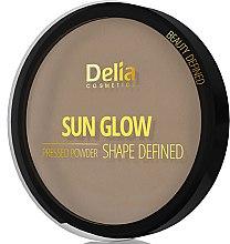 Düfte, Parfümerie und Kosmetik Gepresster Puder - Delia Shape Defined Sun Glow