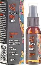 Düfte, Parfümerie und Kosmetik Tattoopflege-Öl - Love My Ink Tattoo Oil