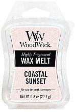 Düfte, Parfümerie und Kosmetik Tart-Duftwachs Coastal Sunset - WoodWick Mini Wax Melt Coastal Sunset Smart Wax System