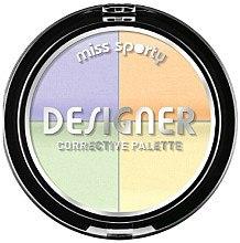 Düfte, Parfümerie und Kosmetik Concealer-Palette - Miss Sporty Designer Corrective Palette (001-Light)