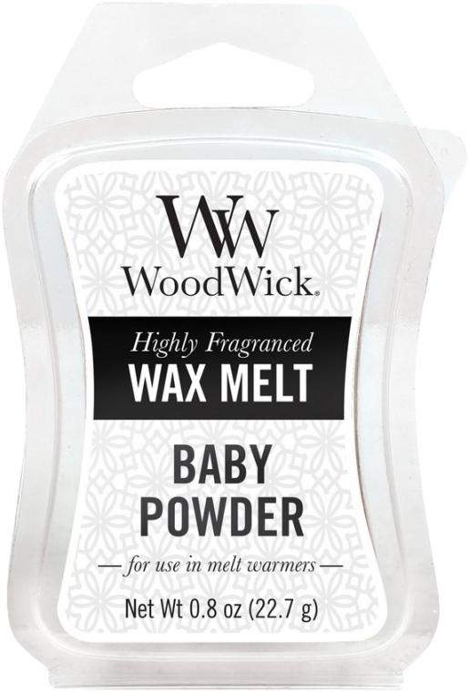 Tart-Duftwachs Baby Powder - WoodWick Wax Melt Baby Powder Smart Wax System — Bild N1