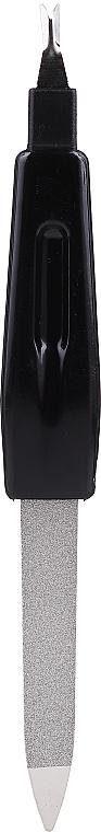 Nagelfeile 12.5 cm 2058 schwarz - Donegal — Bild N1
