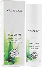 Düfte, Parfümerie und Kosmetik Feuchtigkeitsspendende und beruhigende Gesichtscreme mit Aloe Vera - Organique Calming Therapy Face Cream