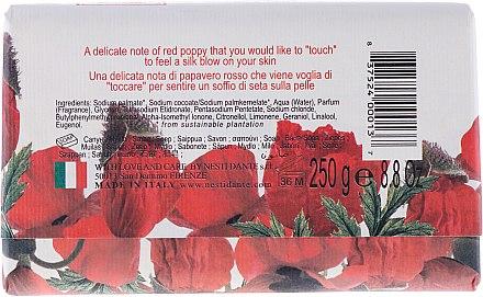 Naturseife Poppy - Nesti Dante Intoxicating Soap Dei Colli Fiorentini Collection — Bild N2