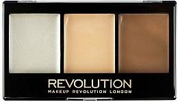 Düfte, Parfümerie und Kosmetik Kontur- und Highlighter-Palette - Makeup Revolution Ultra Cream Contour Kit