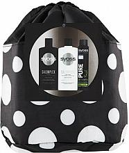 Haarpflegeset - Syoss Salon Plex (Shampoo 500ml + Haarspülung 500ml + Trockenshampoo 200ml + Kosmetiktasche) — Bild N1