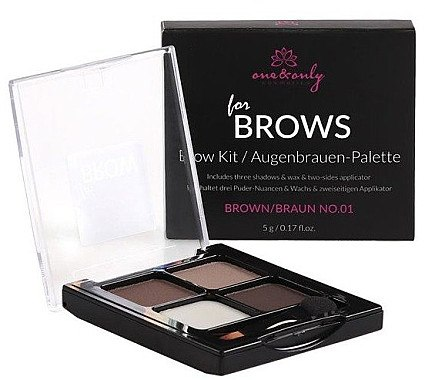 Augenbrauen Set - One&Only Cosmetics For Brow Brows Kit — Bild N1
