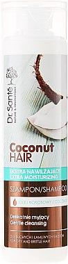 Feuchtigkeitsspendendes Shampoo mit Kokosöl - Dr. Sante Coconut Hair — Bild N1