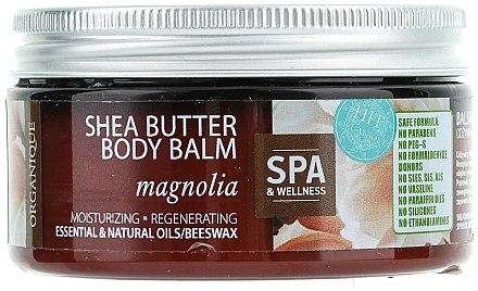 Feuchtigkeitsspendender und regenerirender Körperbalsam Magnolie - Organique Shea Butter Body Balm Magnolia  — Bild N1