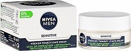 Düfte, Parfümerie und Kosmetik Intensiv feuchtigkeitsspendende Gesichtscreme für Männer - Nivea Intensively Moisturizing Cream Men Sensitive Skin