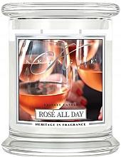 Düfte, Parfümerie und Kosmetik Duftkerze im Glas Rose All Day - Kringle Candle Rose All Day