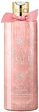 Düfte, Parfümerie und Kosmetik Entspannender Badeschaum Peony & Pink Orchid   - Grace Cole Peony & Pink Orchid Relaxing Bath Foam