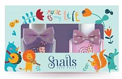Düfte, Parfümerie und Kosmetik Kinder-Nagellack-Set 2x10,5 ml - Snails Mini Bebe Music Is My Life