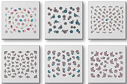 Düfte, Parfümerie und Kosmetik Nageldekorationen-Set 149312 - Top Choice Nail Decorations Stickers Set (6 St.)