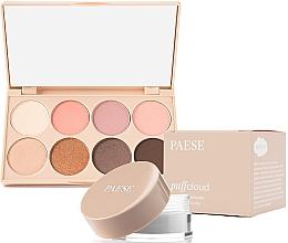 Düfte, Parfümerie und Kosmetik Make-up Set - Paese (Puder für die Augenpartie 5.3g + Lidschatten-Palette 12g)