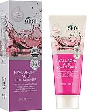 Düfte, Parfümerie und Kosmetik Feuchtigkeitsspendender und nährender Gesichtsreinigungsschaum mit Hyaluronsäure - Ekel Hyaluronic Acid Foam Cleanser