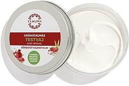 Düfte, Parfümerie und Kosmetik Shea-Körperbutter mit Granatapfel und Aloe Vera - Yamuna Pomegranat Aloe Vera Body Butter