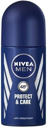 Deo Roll-on Antitranspirant - Nivea Men Protect and Care Deodorant Roll-On — Bild N1