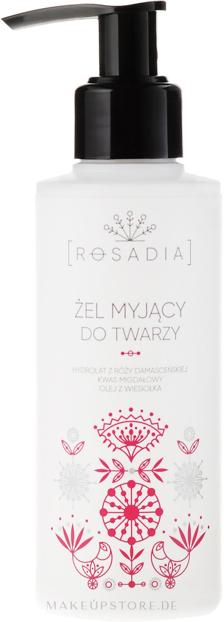 Gesichtsreinigungsgel mit Damaszener-Rose - Rosadia — Bild 150 ml